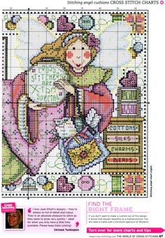 Gallery.ru / Фото #39 - The world of cross stitching 139 - WhiteAngel