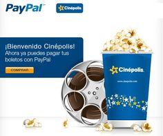 Ya puedes comprar tus entradas a Cinepolis via Paypal