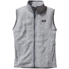 Pre-owned Patagonia Vest ($59) ❤ liked on Polyvore featuring outerwear, vests, grey, gray vest, grey vest, vest waistcoat, patagonia vest and patagonia