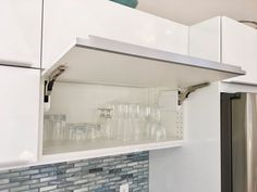 Merveilleux IKEA Horizontal Cabinets For Easy Access And Out Of The Way Doors While  Putting Away Your