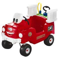 Found it at Wayfair - Spray & Rescue Fire Truck in Red
