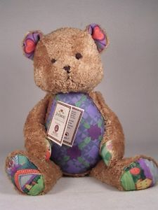 Jim Shore/Boyds Bears Plush 'Hope' Purple Design SUPER Soft NEW With Tags!