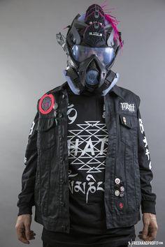 FREEHANDPROFIT.com — No.89 : Miami Nights 11 Gas Mask
