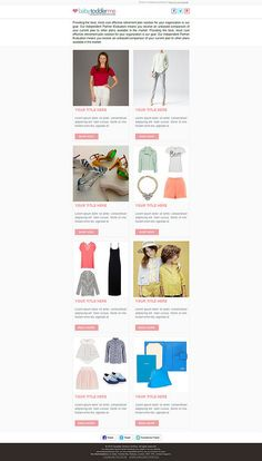 Best Responsive HTML Email Template Images On Pinterest - Mobile friendly email templates