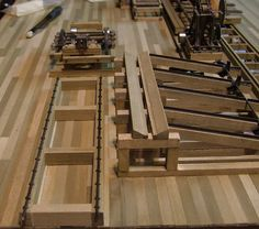 Sawmill for the Tin Can Bay Lumber Co. Ho Trains, Model Trains, Minecraft Building Guide, Train Layouts, Garden Structures, Free Prints, Model Building, Scale Models, Tin