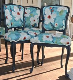 Customizable French Kitchen/Dining Chairs ready for by ChairWhimsy