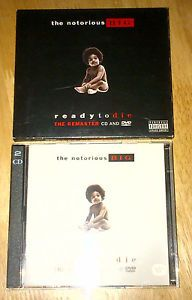Notorious B.I.G. Biggie Smalls Ready To Die The Remaster CD And DVD  #ebay #uniqbeats