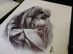 Sketches, Riccardo Federici on ArtStation at https://www.artstation.com/artwork/WrlXy
