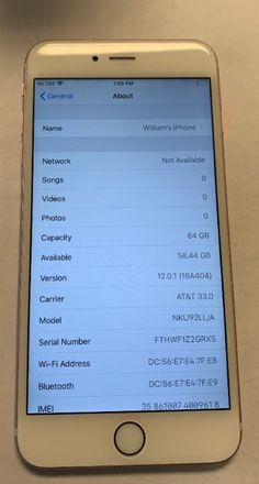 Like new condition Iphone plus Unlocked Rose Gold 6s Plus, Wifi, Songs, Iphone, Song Books