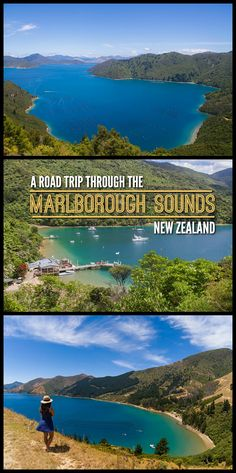 A road trip through the Marlborough Sounds is must-do when travelling to New Zealand. Check out my guide to find out some of the best bays, beaches and viewpoints. Usa Roadtrip, Roadtrip Europa, New Zealand Itinerary, New Zealand Travel, Backpacking Europe, Visit Australia, Australia Travel, Cook Islands, Marlborough Sounds New Zealand