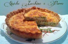Cucinando tra le nuvole: Quiche Zucchine e Porro