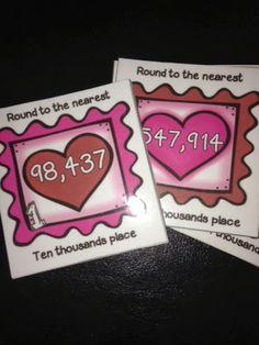 Great Valentine Math Centers