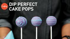Perfect Cake Pop Coating & Dipping | Cake Decorating Tutorial with Kris Galicia-Brown - YouTube