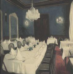 Spilliaert, Restaurant at Night