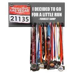 Need this for my display of running achievements ,my current one does not have a place for the bibs