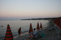 Torre dell'orso, la spiaggia al tramonto!