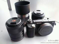 New image of Sony NEX-6 mirrorless camera