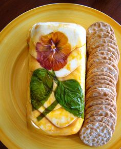 Italian Cheese Terrine Terrine 1 (8 ounce) package cream cheese, softened 2 tablespoons butter, softened 1/2 cup freshly grated parmes...