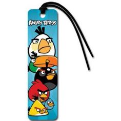 Angry Birds Bookmark