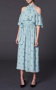 Starling ColdShoulder Midi Dress by Temperley London | Moda Operandi