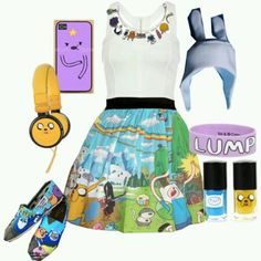 Adventure time inspired outfit