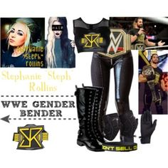 A fashion look from October 2015 by black-onyxx featuring Vision, Beston, Outdoor Research and Kane Wrestling Clothes, Wrestling Outfits, Wwe Outfits, Seth Freakin Rollins, Seth Rollins, Gender Bender, Wwe Divas, Outfit Sets, Future Husband