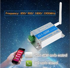 CL1-GSM GSM SMS Remote Controller Phone Remote Control Relay Switch Quad Band #UnbrandedGeneric