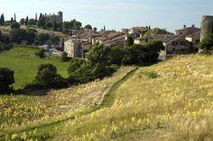 Tourtour village, Provence, France.