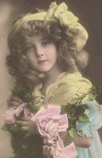 Vintage Photograph of a Little Girl