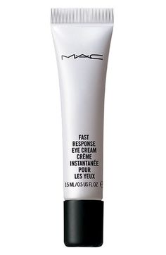 MAC Fast Response Eye Cream, $31 at Nordstrom. A caffeinated eye cream that quickly reduces puffiness and diminishes dark circles.