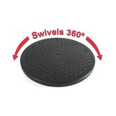 "LapWorks 15"" Heavy Duty Swivel - With Steel Ball Bearings for Indoor/Outdoor Use"