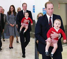 Duchess Kate: William, Kate and George Say Goodbye to Australia