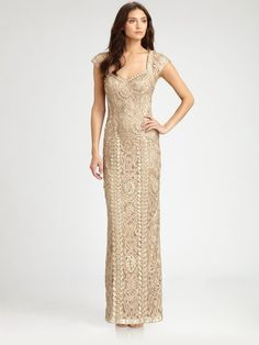 Sue Wong Gown- I think this would be a gorgeous mother of the bride dress