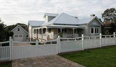 Strongbuild Home Builders Village Builders, Home Builders, Facade Design, House Design, Weatherboard House, Queenslander House, Australian Homes, Australian Architecture, Beautiful Architecture