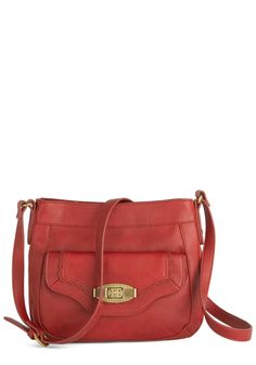 Always at the Red-y Bag. Youve been looking for a wear-anywhere bag in a beloved red hue, and now that you've found this perfect purse byUK-based Nica, your great pursuit can end! #red #modcloth