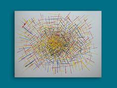 FISSIONE COLORIUM (STIJLAGMITE No. 3) Acrylics on paper 50*65 cm . . . . . . . . . . #primarycolors #destijl #spatola #entropia #spatula #line #abstractart #abstractexpressionism #linea #lineart #lines #sharp #energy #explosion #colorexplosion #prominence #dynamic #intersection #quantum #modernart #avantgarde #lyricalabstraction #expressive #musical #colorlove #artforsale #leiden #originalart #buyart Abstract Expressionism, Abstract Art, Tola, Leiden, Line Art, Primary Colors, Buy Art, Modern Art, Original Art