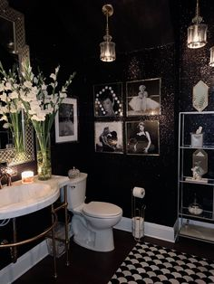 New Article Reveals the Low Down on Restroom Decor Ideas and Why You Must Take Action Today - prekhome Bathroom Interior Design, Interior Decorating, Gothic Bathroom Decor, Bathroom Remodel Cost, Bathroom Renovations, Bathroom Ideas, Goth Home Decor, Black Decor, House Rooms