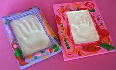 Plaster frame. Can even make the frame from plaster?  mothersdaypictureframes