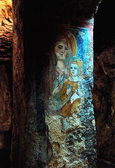 Madonna del Parto - Sutri - Madonna con Bambino   #TuscanyAgriturismoGiratola