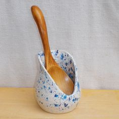 Spoonrest hand thrown pottery www.etsy.com/uk/listing/82400016