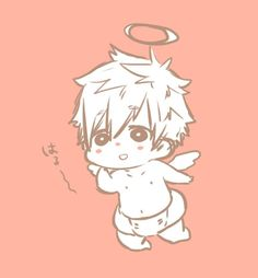 Angel Makoto ...    Free! - Iwatobi Swim Club, makoto tachibana, makoto, tachibana, free!, iwatobi, angel