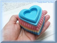 Candy Heart by Eleni by ElenisLittleShop on Etsy