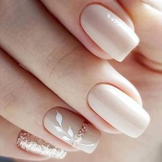 We will talk about the latest trends in nail art, which will be relevant in spring spring nail art designs you need to copy Cute Nail Art Designs, Square Nail Designs, Simple Nail Designs, Bride Nails, Wedding Nails, Wedding Bride, Spring Nail Art, Spring Nails, French Nails