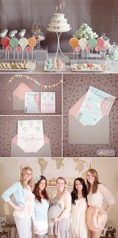 Cute baby shower idea!