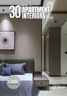 30 small apartment interiors-vol-2 Small Apartment Interior, Apartment Design, Cool Apartments, Design Firms, Bedroom Decor, Design Inspiration, Interiors, Book, Home Decor
