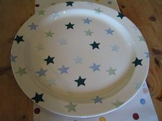 Winter Stars Cake Plate 2003 (Discontinued)