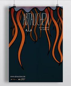 ABTAUCHEN — Plakat: Jessica Ringelstein