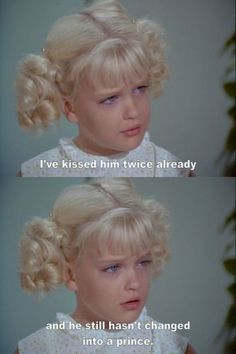 """I've kissed him twi"