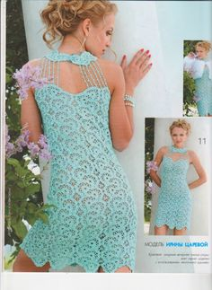 DE MIS MANOS TEJIDOS Y MAS...: Lindo vestido a crochet
