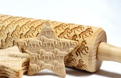 Horse Engraved Rolling Pin